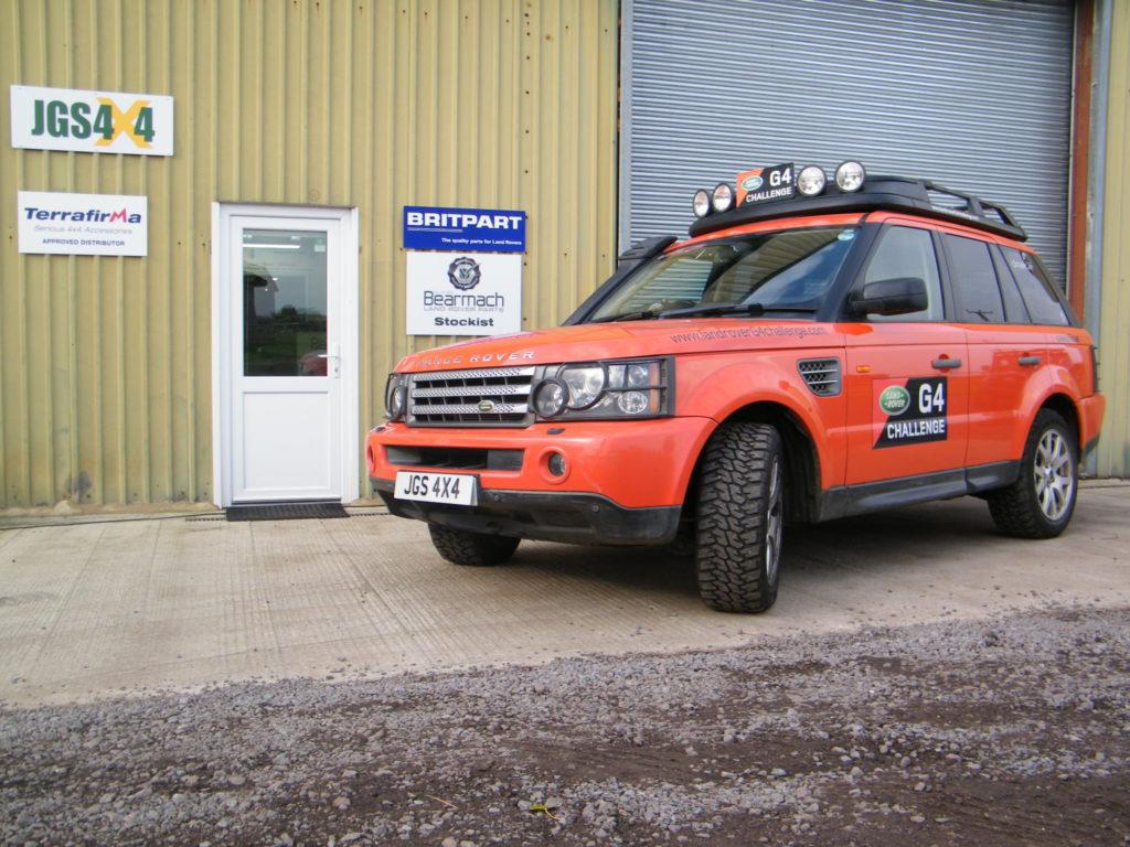 Gearbox fault range rover sport 2016