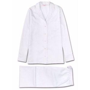 Derek Rose Paris Pyjamas White