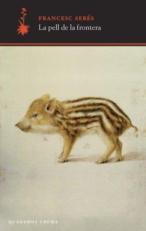 Un porc senglar a la portada del lllibre