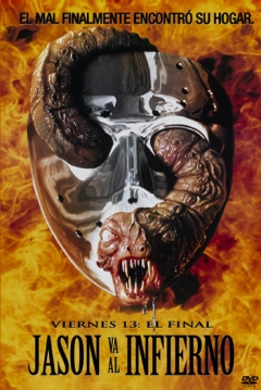 Poster Viernes 13 Parte 9 (El Final: Jason se Va al Infierno)