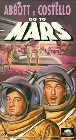 Poster Abbott And Costello Go To Mars