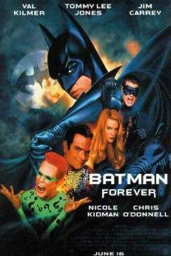Poster Batman Forever