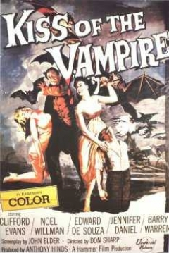 Poster El Beso Del Vampiro