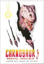 Poster Carnosaurio 3 (Especie Mortal)