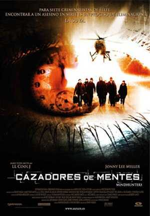 Poster Cazadores de Mentes