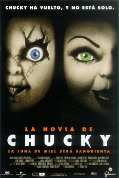 Poster La Novia de Chucky