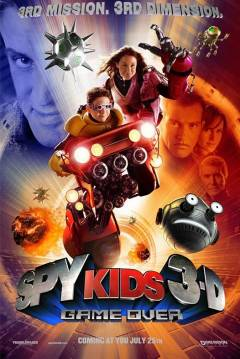 Poster Spy Kids 3D: Game Over