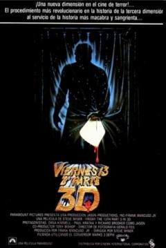 Poster Viernes 13 Parte 3