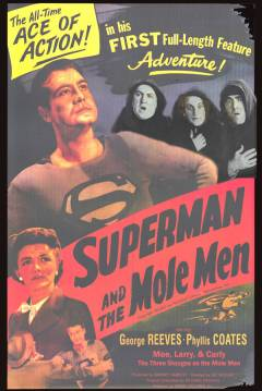 Poster Superman and the Mole-Men