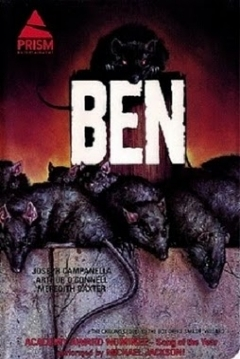 Poster Ben, La Rata Asesina