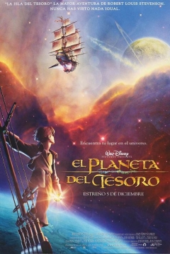 Poster El Planeta del Tesoro