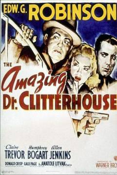 Poster El Sorprendente Dr. Clitterhouse