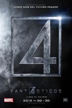 Poster Los 4 Fant�sticos (Reboot)