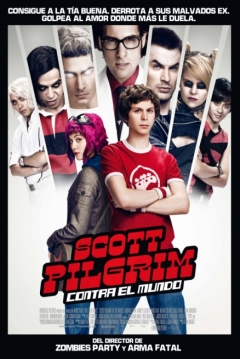 Poster Scott Pilgrim contra el Mundo