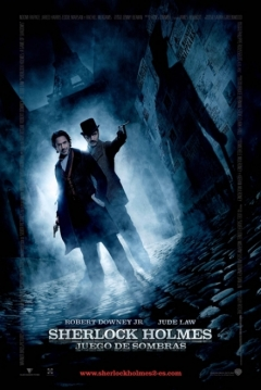 Poster Sherlock Holmes 2: Juego de Sombras