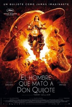 Poster El Hombre que Mató a Don Quijote