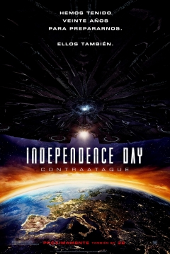Poster Independence Day 2: Contraataque