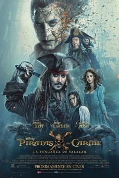 Poster Piratas del Caribe 5: La Venganza de Salazar