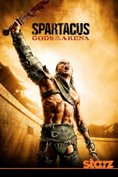 Poster Spartacus: Dioses de la Arena