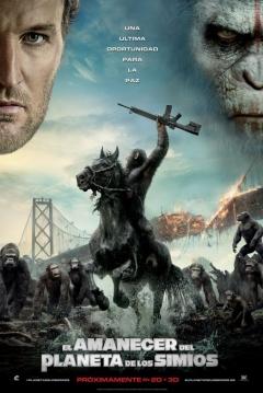 Poster El Amanecer del Planeta de los Simios