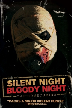 Poster Silent Night, Bloody Night: The Homecoming