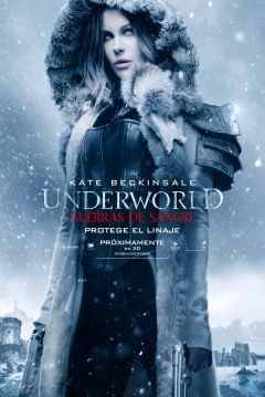 Poster Underworld 5: Guerras de Sangre