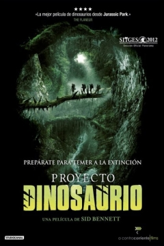 Poster Proyecto Dinosaurio (The Dinosaur Project)
