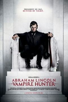 Poster Abraham Lincoln: Cazador de Vampiros 2