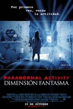 Poster Paranormal Activity 5: Dimensi�n Fantasma