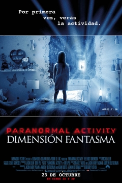 Poster Paranormal Activity 5: Dimensión Fantasma