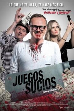 Poster Juegos Sucios (Cheap Thrills)