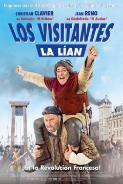 Poster Los Visitantes la Lían (en la Revolución Francesa)