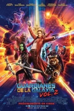 Poster Guardianes de la Galaxia 2