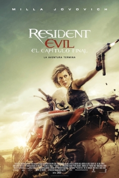 Poster Resident Evil 6: El Capítulo Final