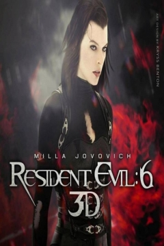 Poster Resident Evil 6