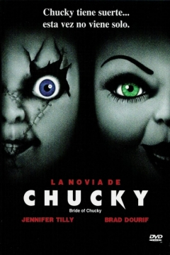 Poster La Novia de Chucky