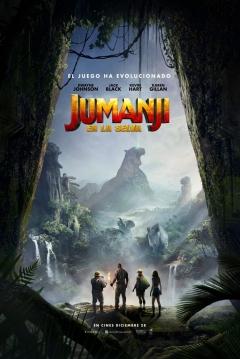 Poster Jumanji: Bienvenidos a la Jungla