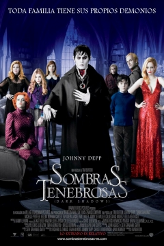 Poster Sombras Tenebrosas (Dark Shadows)