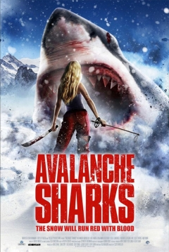 Poster Avalanche Sharks