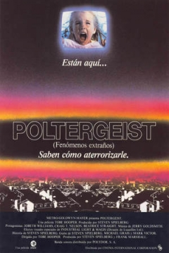 Poster Poltergeist (Fenómenos Extraños)