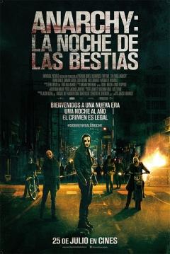 Poster Anarchy: La Noche de las Bestias (The Purge 2)