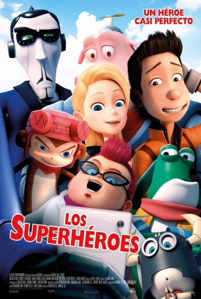 Poster Los Superhéroes