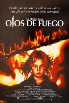 Poster Ojos de Fuego