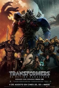 Poster Transformers 5: El Último Caballero