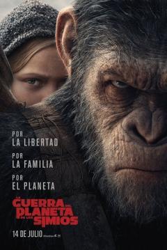 Poster La Guerra del Planeta de los Simios
