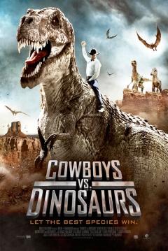 Poster Cowboys vs Dinosaurs