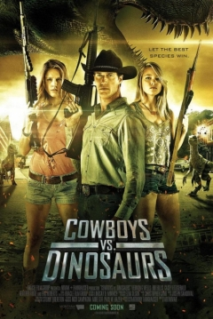 Poster Cowboys vs Dinosaurs