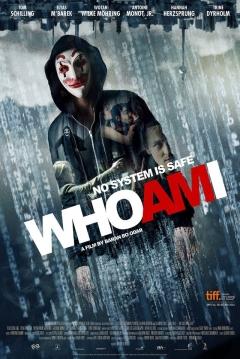 Poster Who Am I: Ningún Sistema Es Seguro