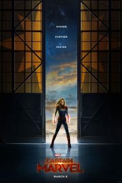 Poster Capitana Marvel
