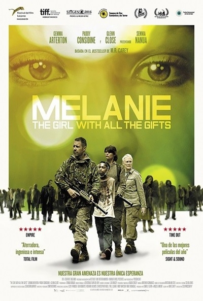 Poster Melanie: The Girl with All the Gifts